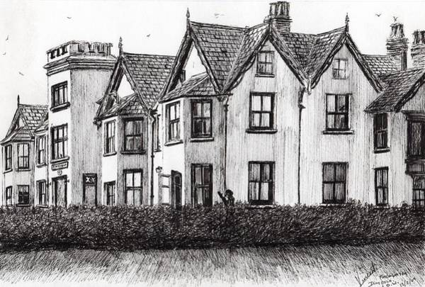 Great Britain Drawing - Dimbola Lodge by Vincent Alexander Booth