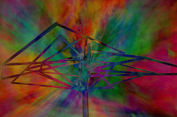 Wall Art - Photograph - Dimensional Antenna by John Ricker