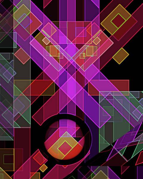 Digital Art - Dimensions-18 by Lynda Lehmann