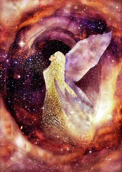 Sacred Heart Mixed Media - Dimensions II by Tone Plassen