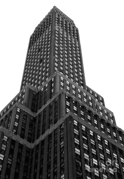 Photograph - Dimensions In New York City Mono by John Rizzuto