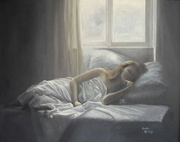 Painting - Dimitra by Caroline Philp