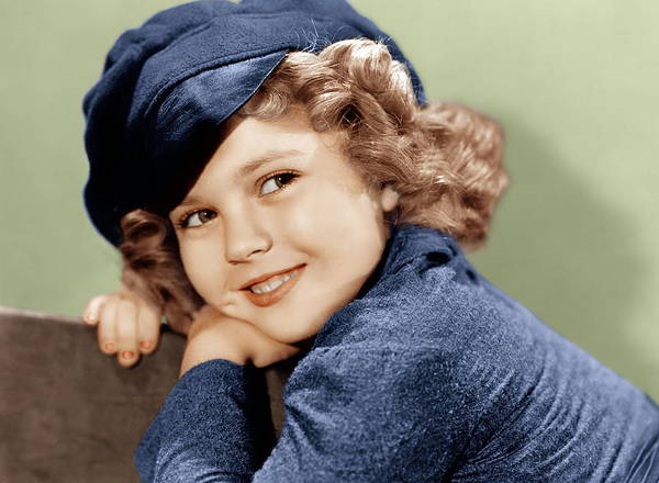 Temple Wall Art - Photograph - Dimples, Shirley Temple, 1936 by Everett