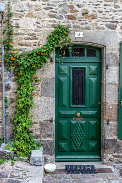 Wall Art - Photograph - Dinan Door Number 3 by W Chris Fooshee