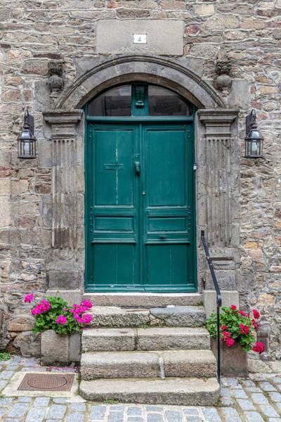 Wall Art - Photograph - Dinan Door Number 4 by W Chris Fooshee