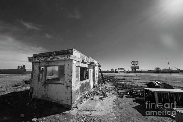 Wall Art - Photograph - Diner At The Drive-in In Black And White by Twenty Two North Photography