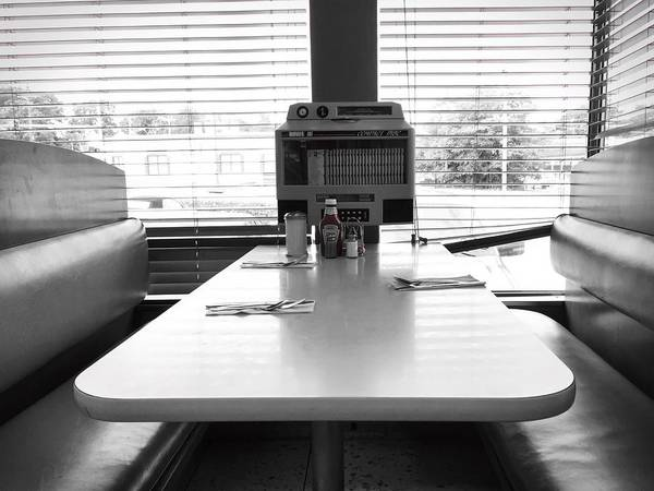 Photograph - Diner by Chris Montcalmo