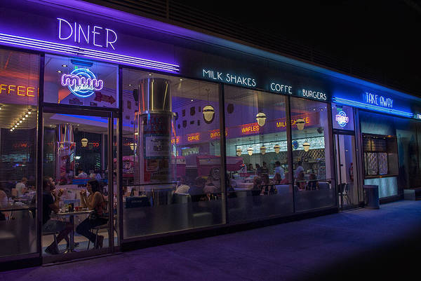Milk Shake Photograph - Diner - Fast Food by Hans Wolfgang Muller Leg