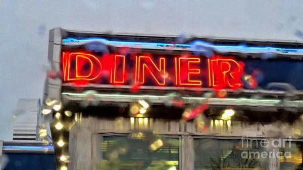 Photograph - Diner by Jeff Breiman