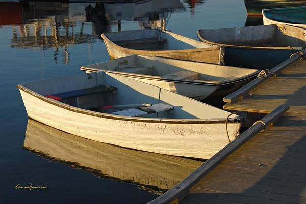 Photograph - Dinghies In Sepia by AnnaJanessa PhotoArt