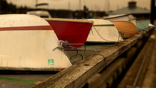 Dinghies Photograph - Dinghy's by Thomas Ashcraft