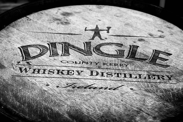 Irish Whiskey Photograph - Dingle Whiskey Barrel by Georgia Fowler