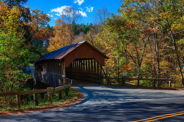 Photograph - Dingleton Hill Covered Bridge by Jeff Folger