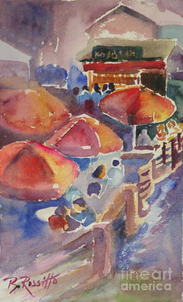 Dining Al Fresco Painting - Dining Al Fresco by B Rossitto
