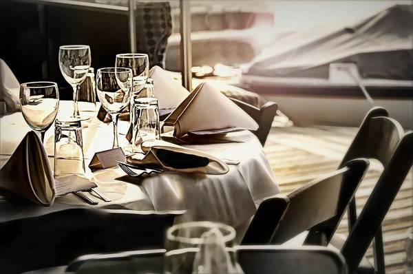 Wall Art - Photograph - Dining Alfresco by Diana Angstadt