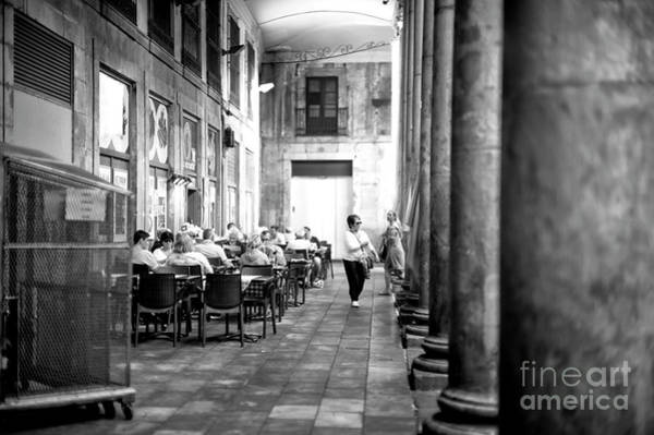Photograph - Dining At La Boqueria by John Rizzuto