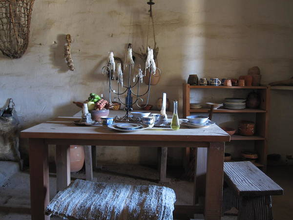 Photograph - Dining Quarters by Nancy Ingersoll
