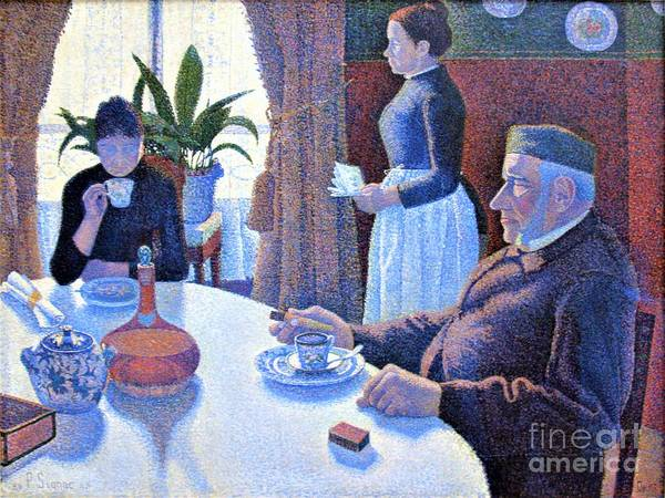 Wall Art - Painting - Dining Room  by Pg Reproductions