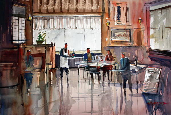 Wall Art - Painting - Dinner For Two by Ryan Radke