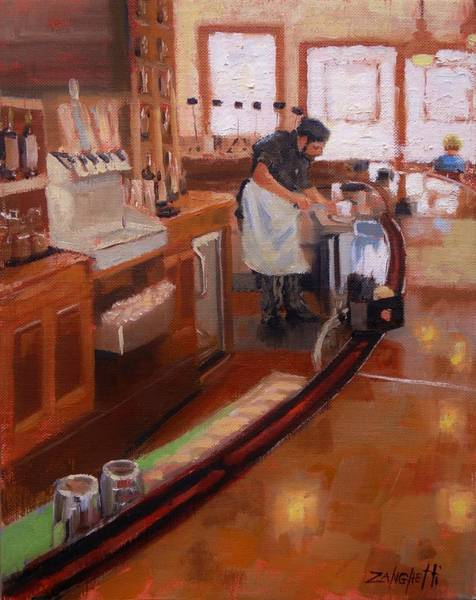 Wall Art - Painting - Dinner On The Cape by Laura Lee Zanghetti
