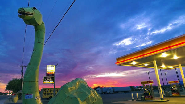 Photograph - Dino Diesel by Skip Hunt
