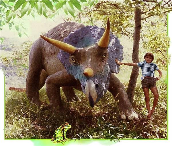 Photograph - Dinosaur Pet by Hartmut Jager