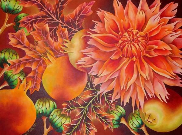 Wall Art - Painting - Dionne by Elizabeth Elequin