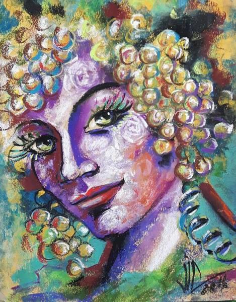 Floral Watercolor Drawing - Dionysiana  by Vali Irina Ciobanu