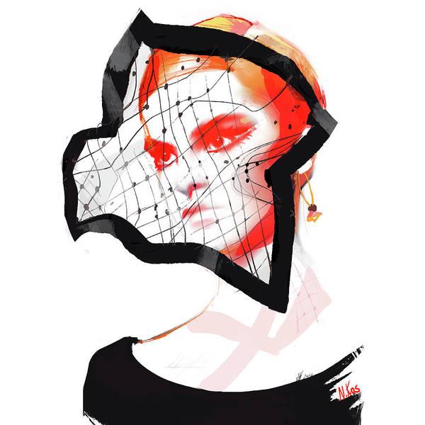 Dior Digital Art - Dior by Nina Kosmyleva