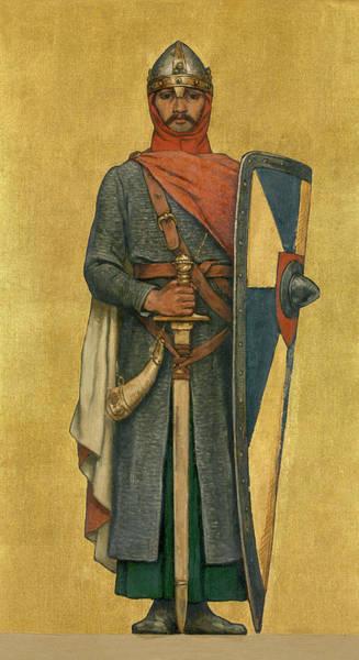 Alsace Wall Art - Painting - Theoderic by Albert De Vriendt