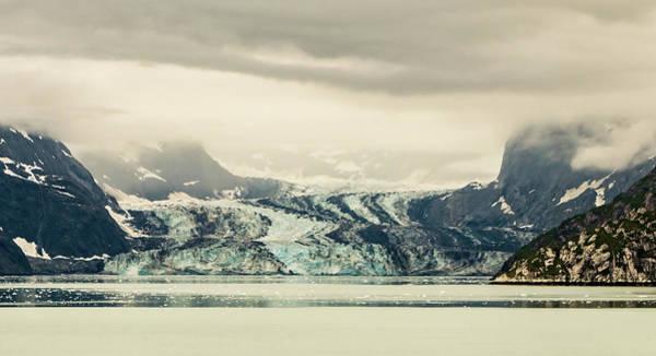 Photograph - Dirty Glacier by Ed Clark