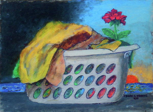 Painting -  Dirty Laundry by Frank Hunter