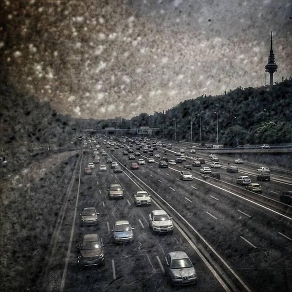 Wall Art - Photograph - Dirty Piruli #madrid #traffic #street by Rafa Rivas