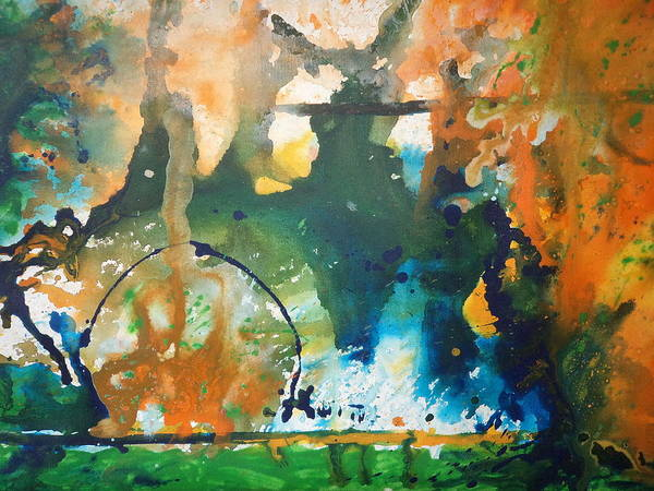 Destructive Painting - Disaster by Pooja Verma