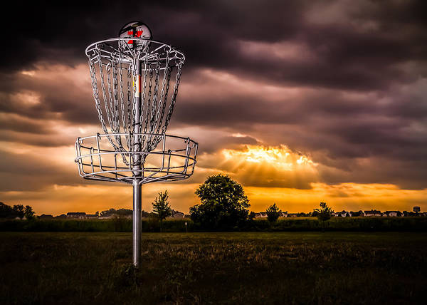 Golf Green Photograph - Disc Golf Anyone? by Ron Pate