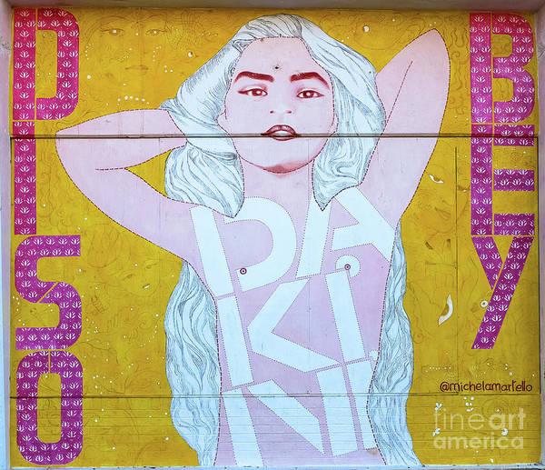 Kammerer Wall Art - Photograph - Disco Bey - Graffiti Art by Colleen Kammerer