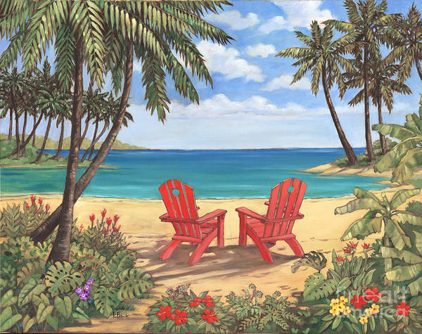 Wall Art - Painting - Discovery Bay II by Paul Brent