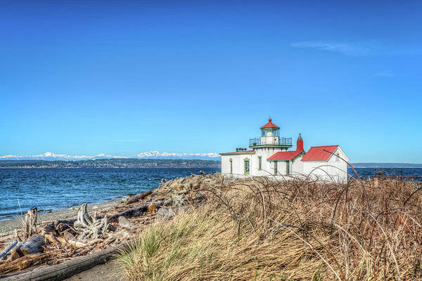 Wall Art - Photograph - Discovery Park Lighthouse by Spencer McDonald