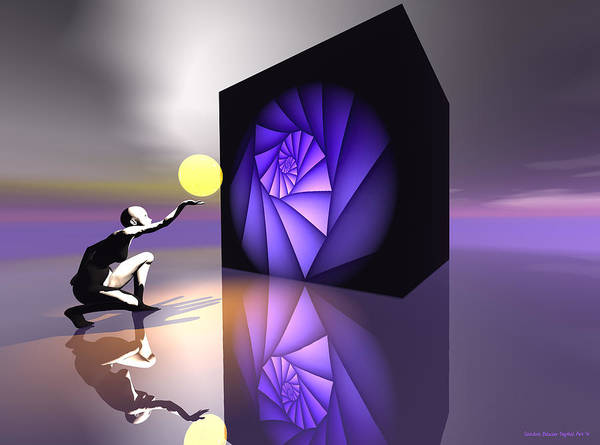 Digital Art - Discovery by Sandra Bauser Digital Art