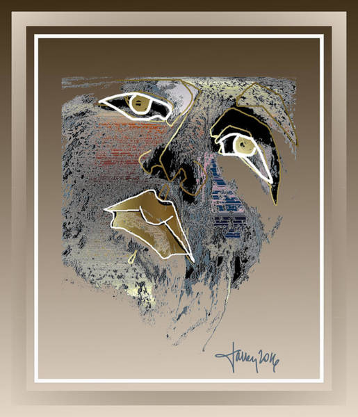 Digital Art - Bewildered Angel by Larry Talley