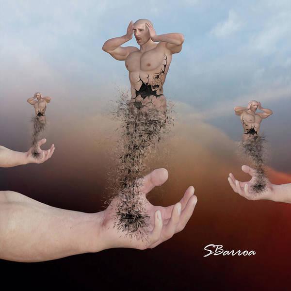 Disintegration Painting - Disintegration by Surreal Photomanipulation