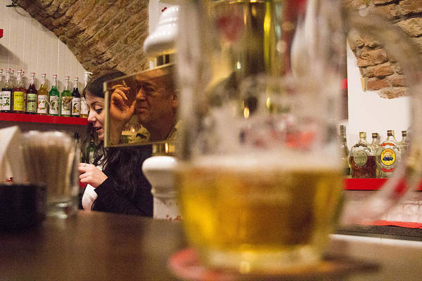 Bar Tender Photograph - Disinterested by Joshua Van Lare