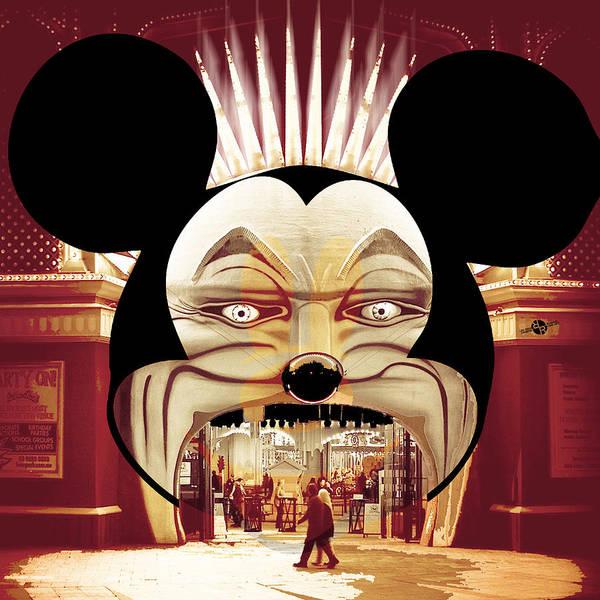 Painting - Dismal World Alternate Disney Universe 1 by Tony Rubino