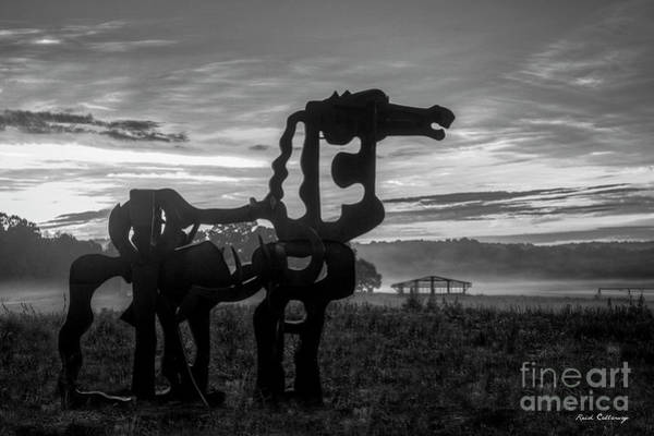 Photograph - Dismantled The Iron Horse Collection Greene County Art by Reid Callaway