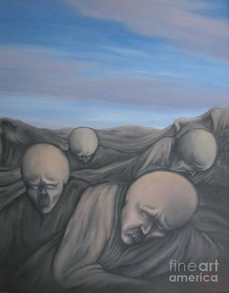 Painting - Dismay by Michael  TMAD Finney