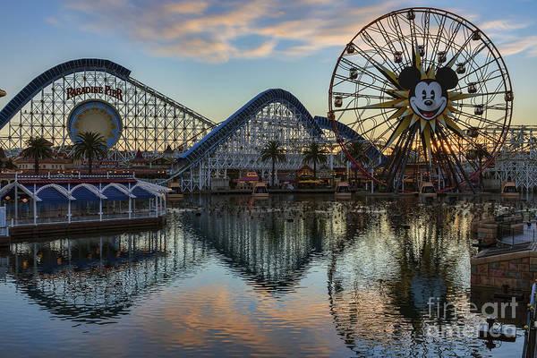Disney California Adventure Reflections Art Print