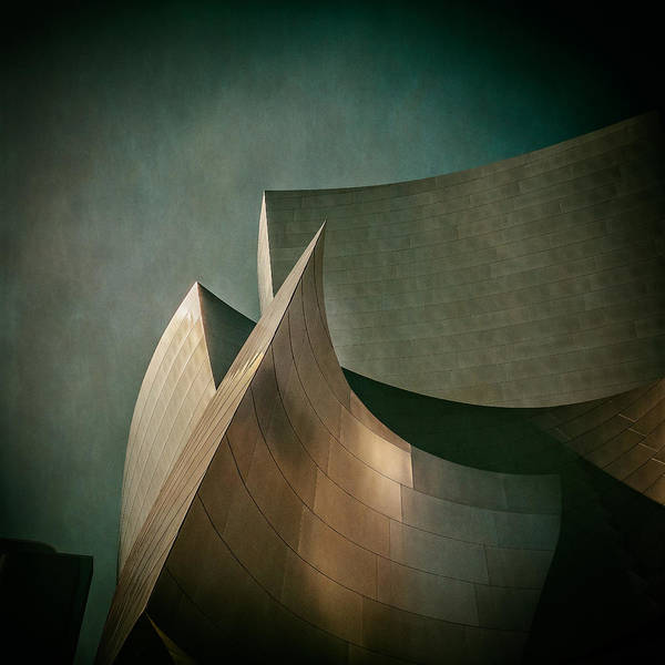 Photograph - Disney Concert Hall by James Howe