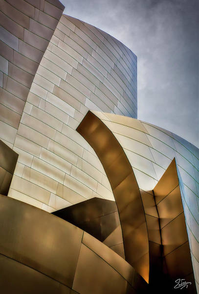 Photograph - Disney Hall Abstract 3 by Endre Balogh