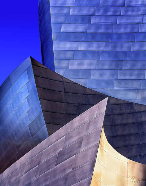Photograph - Disney Hall Abstract by Endre Balogh