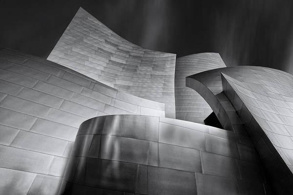 Music Hall Photograph - Disney Music Hall by Steve Buffington